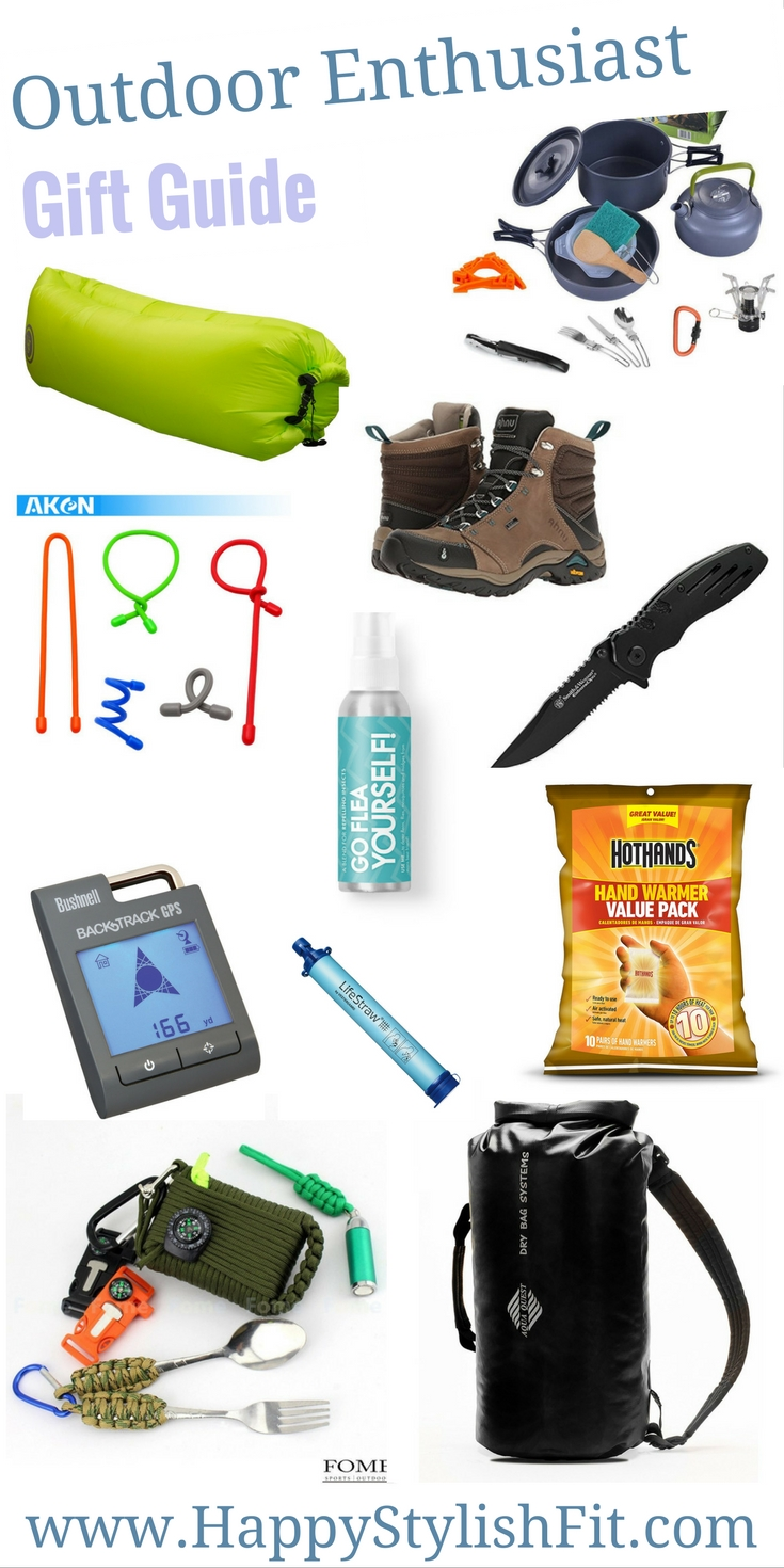 The ultimate outdoor enthusiast gift guide.