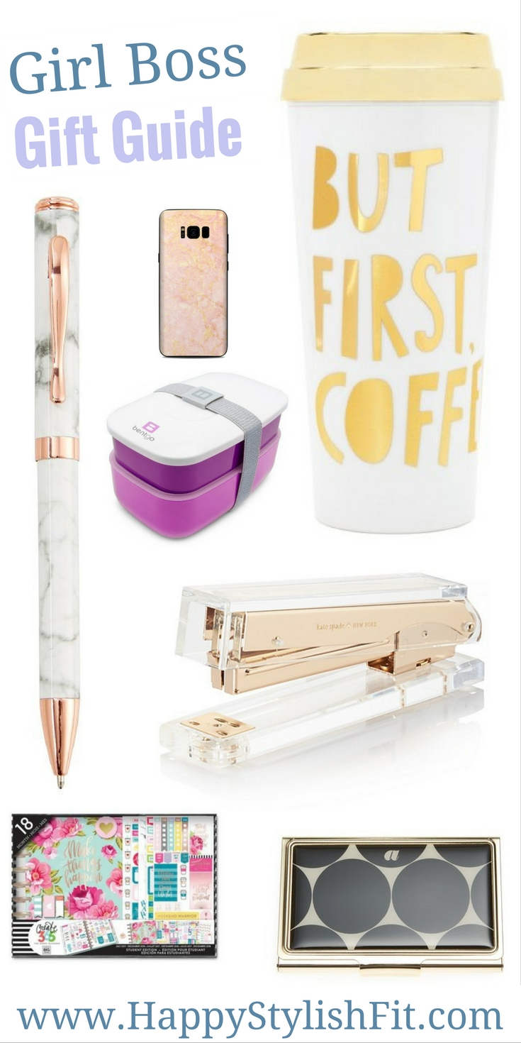 Your holiday gift guide for the girl boss in your life.
