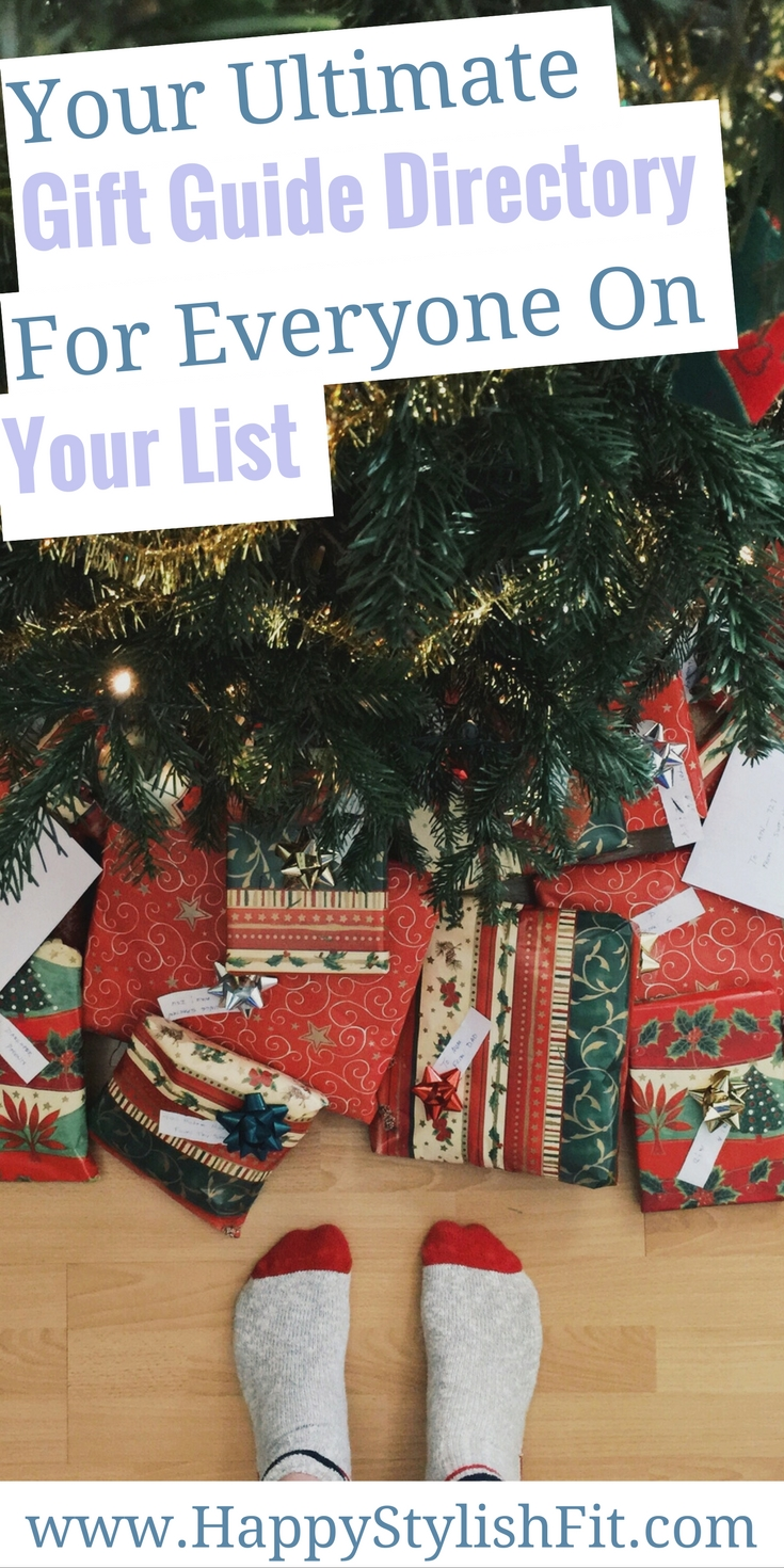 Find a gift for everyone on your list with this gift guide directory.