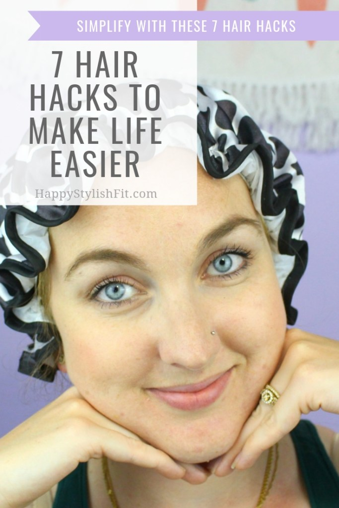 Check out these 7 hair hacks to make your life easier while still having great hair care. #HairHacks #NewMom #FirstTimeMom #QuickMorningRoutine #HairCare