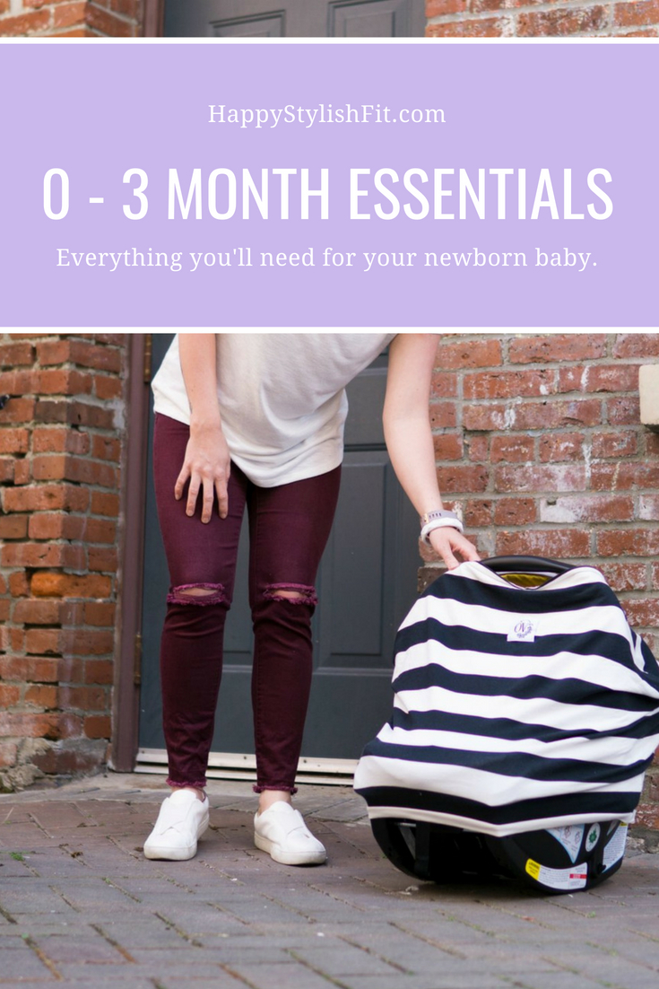 0 - 3 month essentials, everything you'll need for your newborn baby.