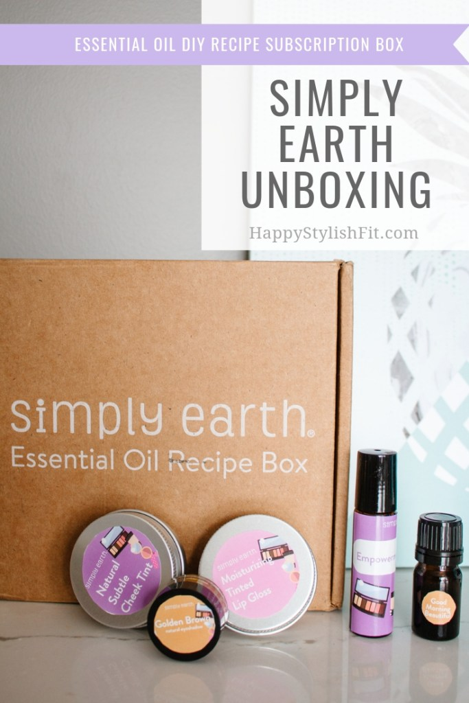 DIY Recipes from the February Simply Earth Subscription Boxes