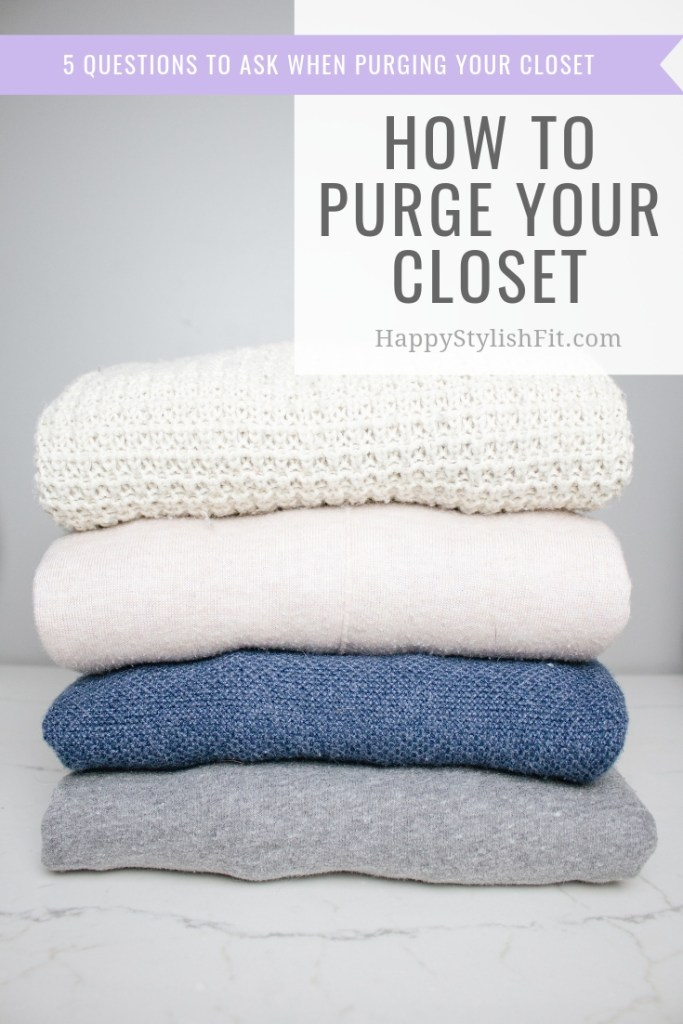 How to clean your closet. 5 questions to ask when purging your closet so you can love your wardrobe. maternity style, maternity fashion, maternity outfit, capsule wardrobe, spring cleaning.