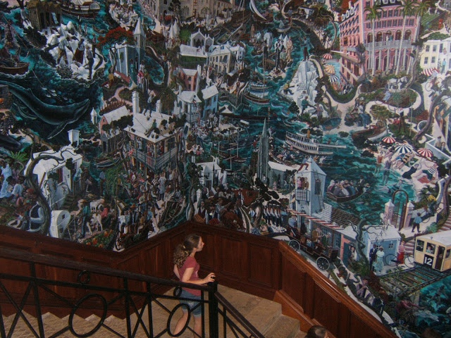 mural of Bermuda history