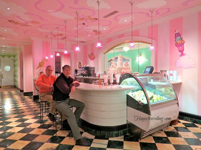 Drapers ice cream parlor