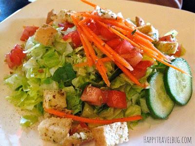 basic house salad