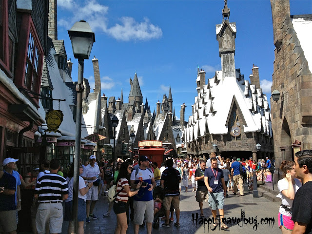 Hogsmeade at Harry Potter World