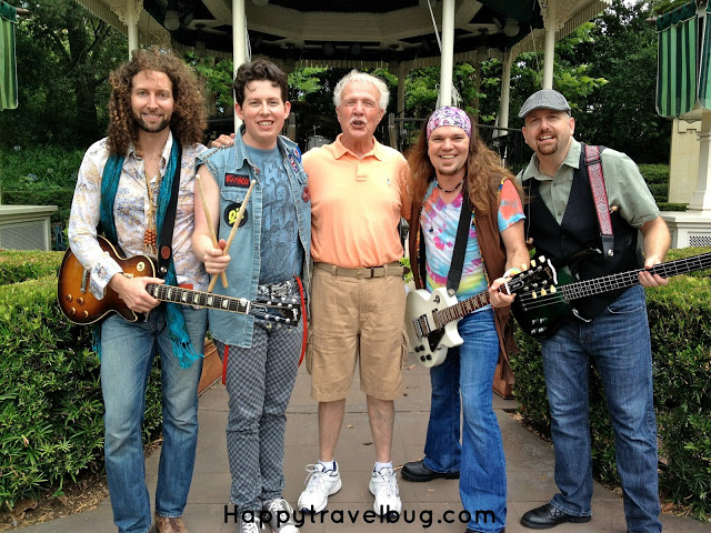 The English band that plays at Epcot's England