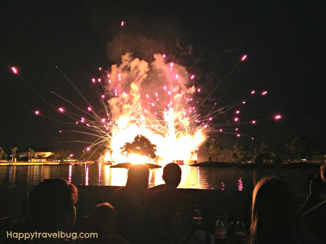 Illuminations show at Epcot