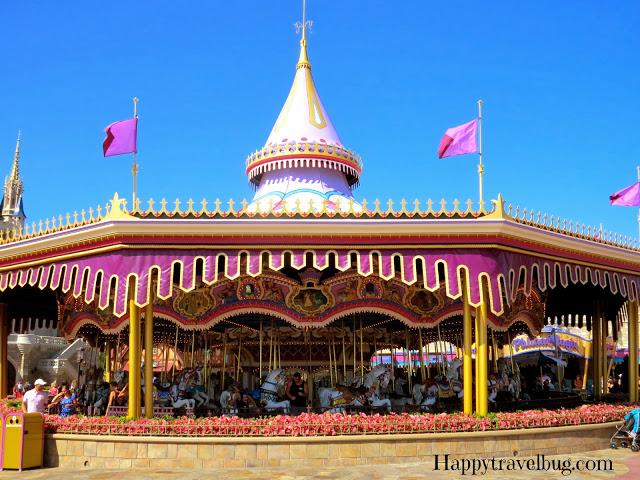 Carousel at Magic Kingdom