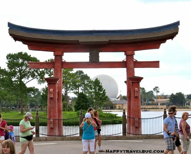 Entrance to Japan at Epcot (Disney World)