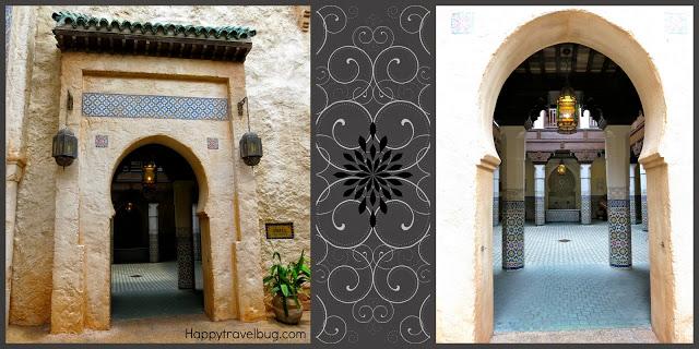 Moroccan doorways at Epcot