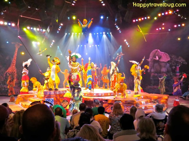 Festival of the Lion King show at Animal Kingdom