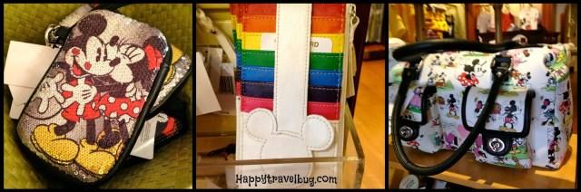 Disney handbags, wallets and organizers