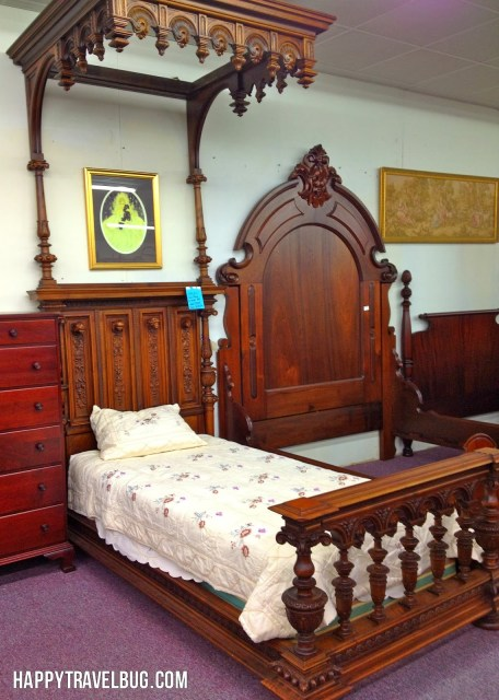 Robin Hood antique bed from Morris Antiques in Keo, Arkansas