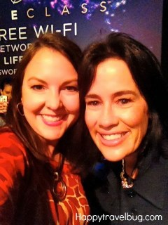 Me and Sally Lou Loveman before a taping of Lifeclass
