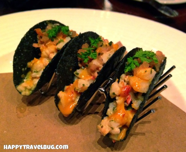 Lobster tacos from Bobby Flay's Mesa Grill in Las Vegas