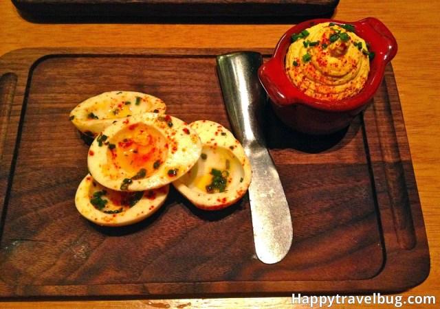 Deviled eggs from Gordon Ramsay's Pub & Grill