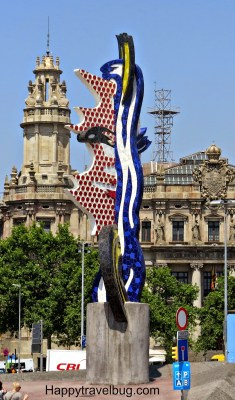 Barcelona Face by Roy Lichtenstein