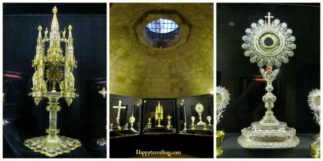 Religious Relics in The Basilica Santa Maria del Pi