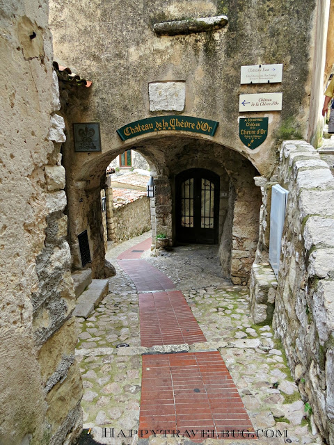 """The """"streets"""" of Eze, France...no cars here"""