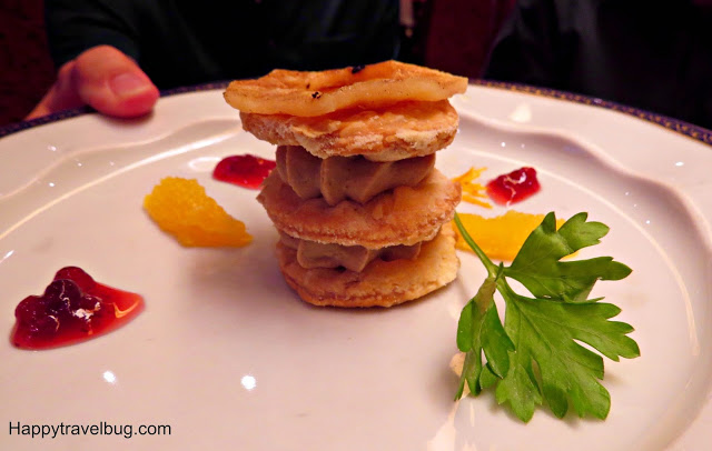 Duck Pate on Holland America Cruise