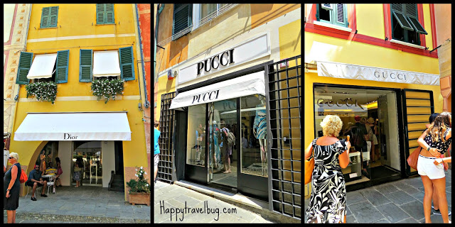 Portofino, Italy shopping