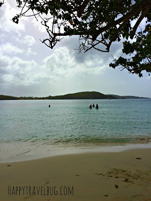 Beach in St. John, USVI
