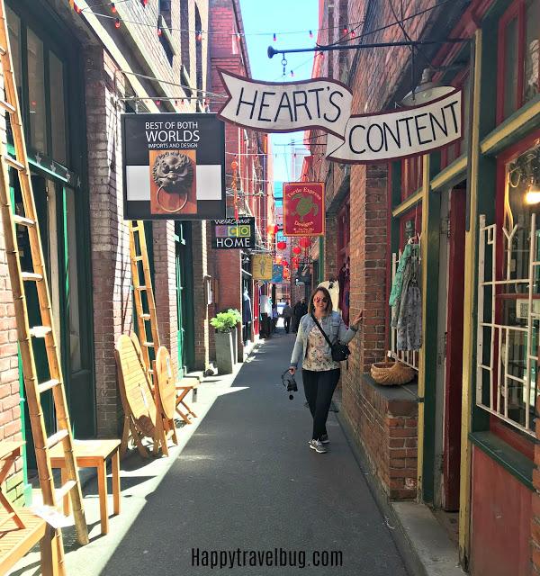 Victoria, BC Chinatown Fan Tan Alley