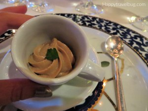 Amuse Bouche from Pinnacle Grill on Holland America Line