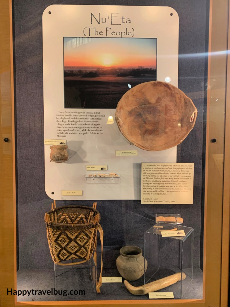 Mandan Indian artifacts