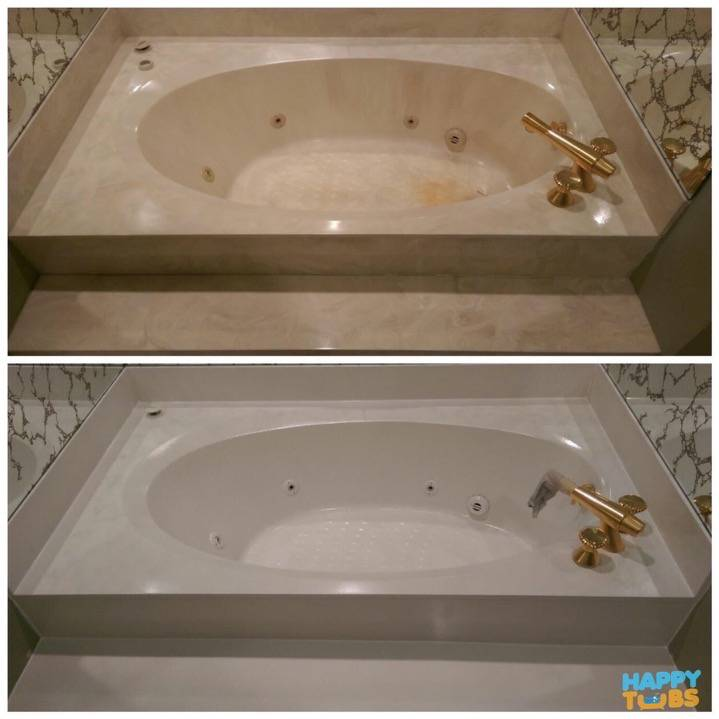 Garden Tub Refinishing in Grand Prairie, TX - Happy Tubs Bathtub Repair