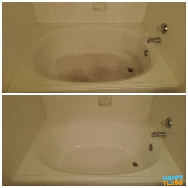 Garden Tub Refinishing in Plano, TX - Happy Tubs Bathtub Repair