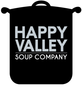 Happy Valley Soup Company Pot Logo