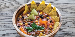 Tortilla Soup in a Bowl