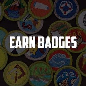 Earn Badges