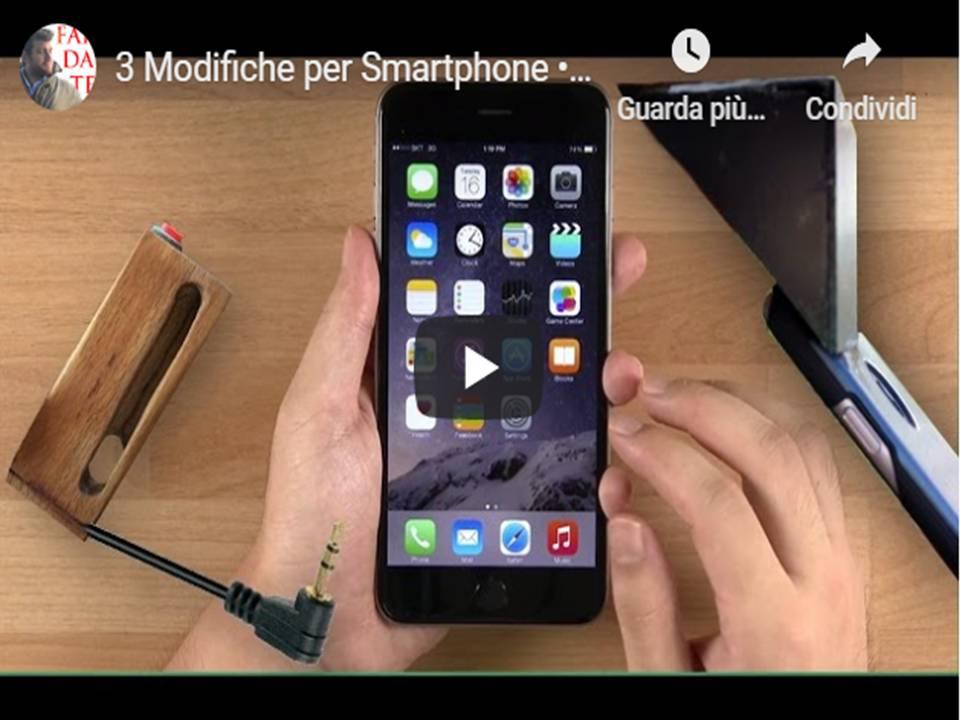 Modifiche per Smartphone