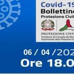 Bollettino Covid-19 del 6 aprile
