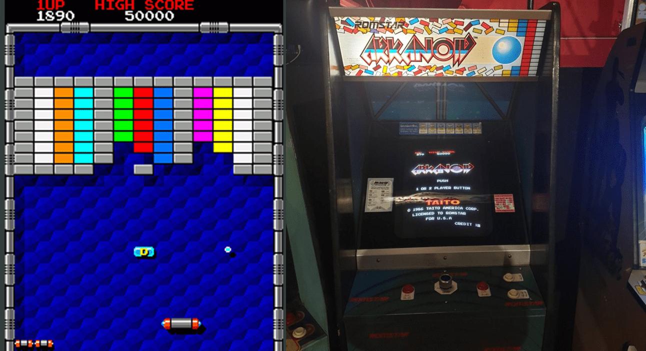 Arkanoid – videogioco anni 80