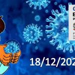 Bollettino Covid-19 i casi in Italia alle ore 18 del 18 dicembre