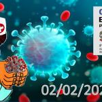 Bollettino Covid-19 i casi in Italia alle ore 18 del 02 febbraio
