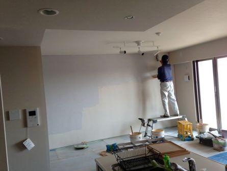 福岡市内のマンション内壁リノベーション0