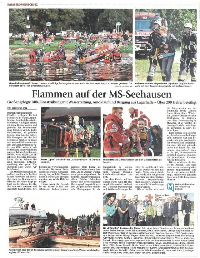 Garmisch-Partenkirchner Tagblatt 26.09.2016