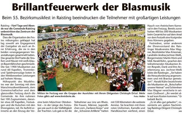 Kreisbote Weilheim-Schongau, 24.07.2019