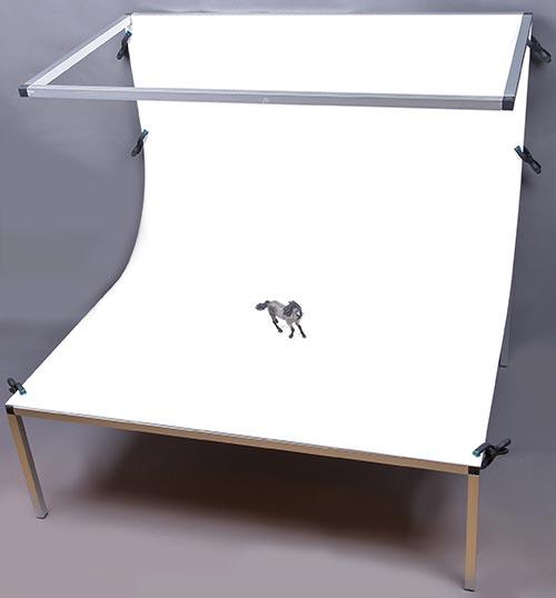 Aufnahmetisch für Kleinteile