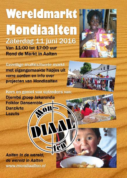 Poster Wereldmarkt Aalten