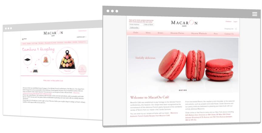 Macaron Cafe Case Study