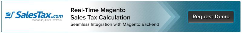 Request Demo for Salestax.com Magento Integration