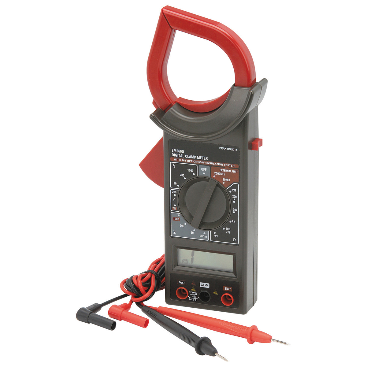 Rotate selector to ac or dc voltage · step 3: 7 Function Clamp-On Digital Multimeter