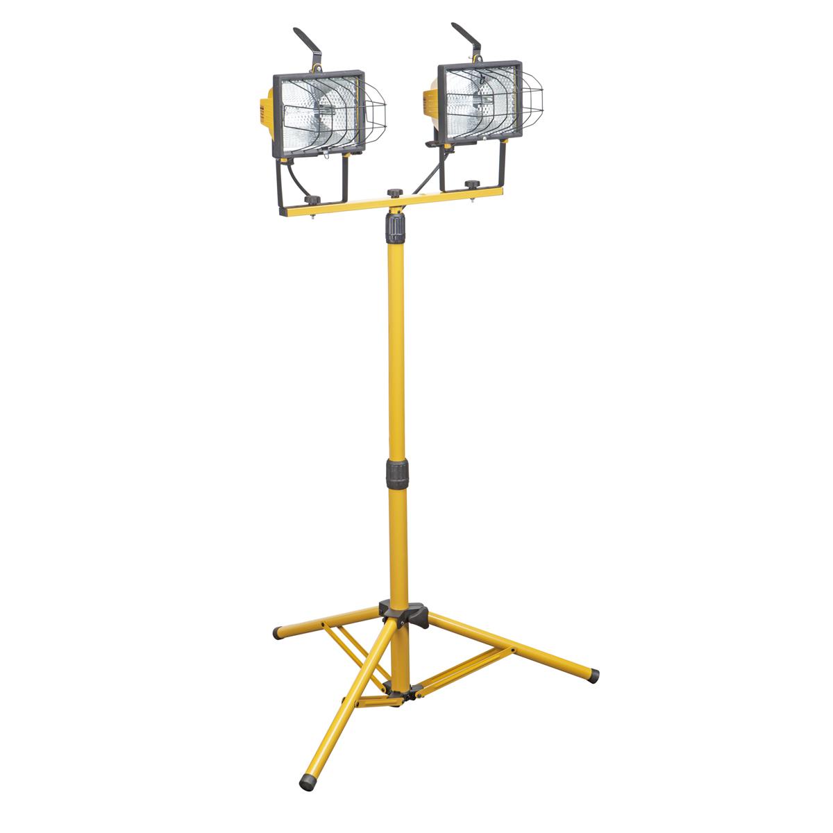 Watt Twin Lamp Halogen Floodlight